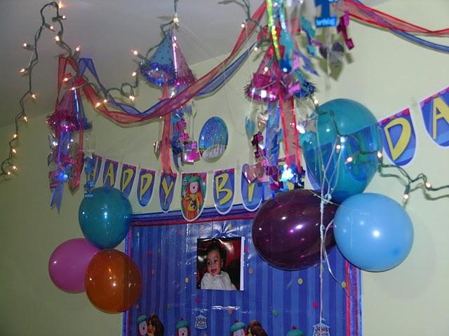 تزئین تولد با بادکنک