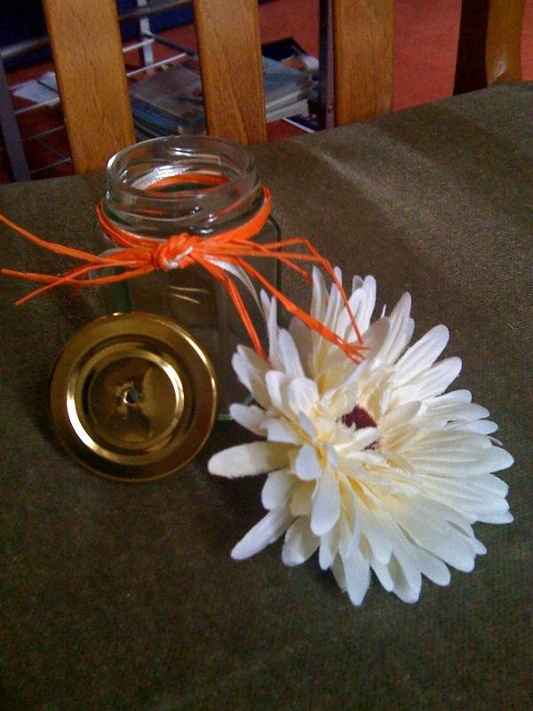 تزئین شیشه نخود و لوبیا 2