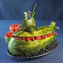عکس   مدل های جدید چیدمان و تزئین میوه ها برای شب یلدا