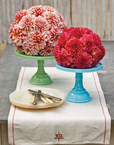 توپ گل برای روی میز