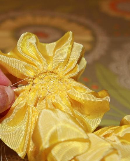 گل روبانی ساده-5